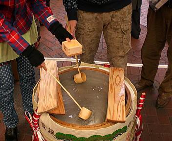 にいがた食の陣 冬 2009 ふるまい酒