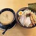 飛雄馬見附店 メガつけ麺(みそ背脂・中太400g)