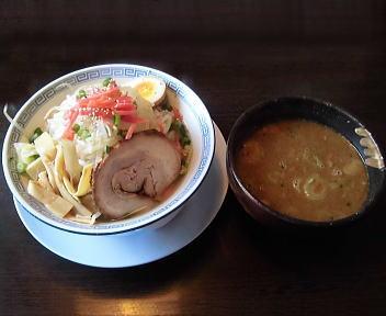 孔明女池上山店 ON野菜みそつけ麺(弥彦山)
