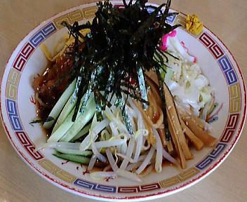 大むら 冷し中華(細麺・醤油味)