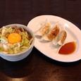 我々屋 セット(キャベ玉丼+ぎょうざ)
