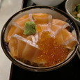梅田軒 ミニ生鮭親子丼