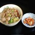 麺春 ラーメン定食