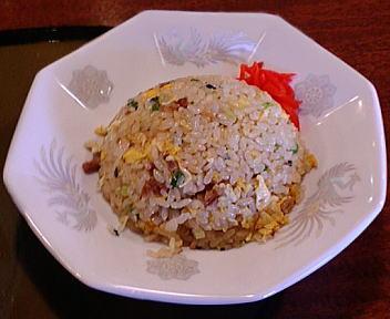 三宝亭加賀町店 半炒飯