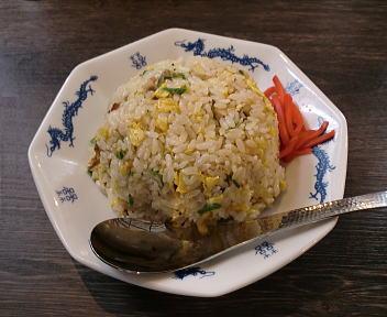 ダルマ食堂 半チャーハン(大盛)