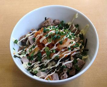 ふくすけ 豚キムチマヨ丼