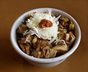 福麺 ミニ辛子豚丼