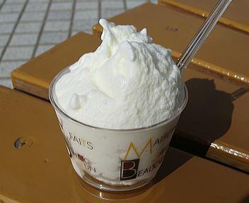 名立谷浜SA ジェラート(塩)