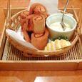 えぴきゅーる 秋鮭とパンのいそべ揚げ