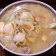 食堂ミサあらい道の駅 野菜らーめん(味噌・大盛)