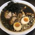 麺無双 岩のりちゃーしゅー麺(大盛)+味玉