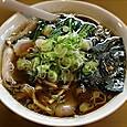 青島司菜ときめき ラーメン(大盛)+ねぎ50+ほうれん草50