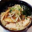 中ムラ 麺こぶラーメン