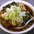 青島司菜 ラーメン(大)+ねぎ50+ほうれん草50