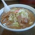8番らーめん 野菜らーめんのしょうゆスープ