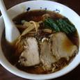 大江戸県庁前店 醤油ラーメン(大盛)