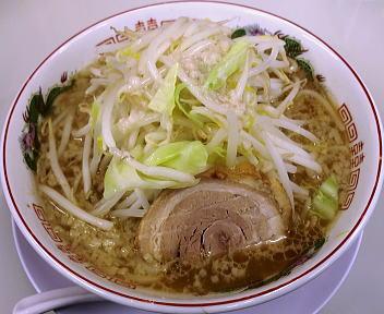 のろし粟山店 ラーメン(肉一枚)