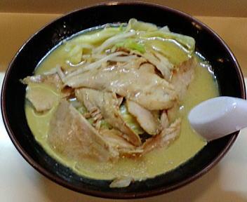 古潭 野菜味噌ラーメン+Wチャーシュー
