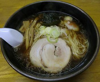 翔(上越) 正油ラーメン(細麺)