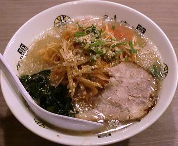 きんしゃい亭新潟駅前店 ネギラーメン