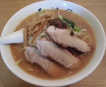 大江戸県庁前店 味噌ラーメン(大盛)