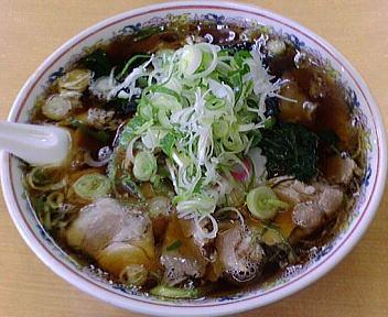 青島けやき通り店 チャーシューメン(大)+ねぎ50円増