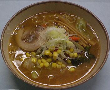 新潟市役所食堂 味噌ラーメン