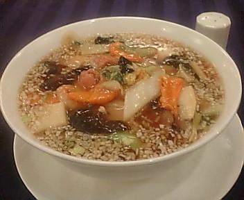 慶楽 五目あんかけスープ麺