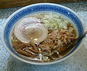 じじ&ばば 納豆ラーメン