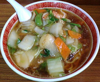 福来亭(関屋) 五目うま煮ラーメン