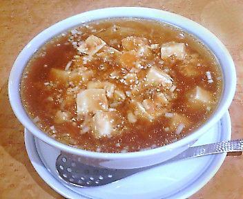 四川飯店 麻婆湯麺