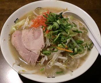 きんしゃい亭紫竹山店 野菜ラーメン