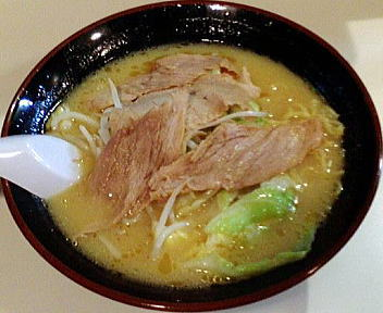 古潭 野菜味噌ラーメン+チャーシュー