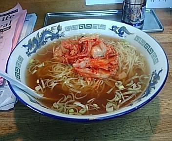 古稀櫻 キムチラーメン
