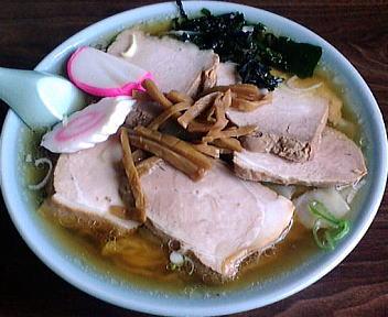 萬来 チャーシューワンタン麺