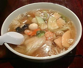 張園けやき通り店 広東麺