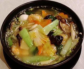 慶楽 エビ入りスープ麺