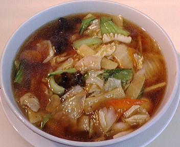鵬龍 広東麺