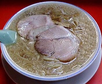 安福亭千手店(旧) 老麺