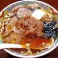 ばんちゃんラーメン 梅干しバターラーメン(しょうゆ)