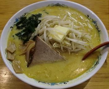 札幌館 味噌カレー牛乳ラーメン