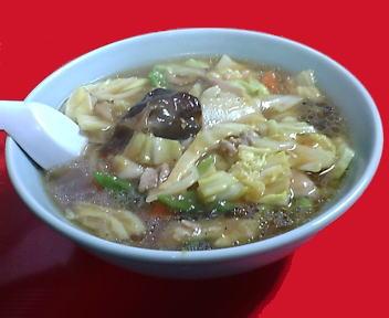 俵屋飯店 肉片湯麺