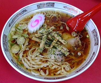 龍上海 赤湯ラーメン