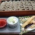小嶋屋 へぎそば+天ぷら盛り合わせ