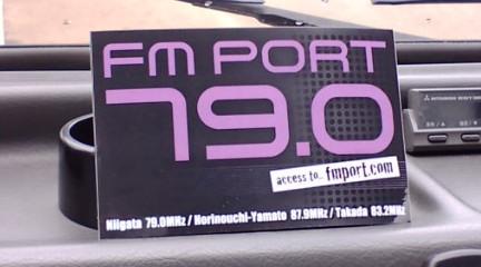 FM PORT ステッカー