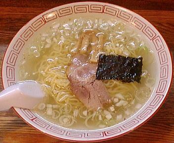一心亭新潟店 塩ラーメン