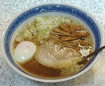 じじ&ばば ラーメン+温玉