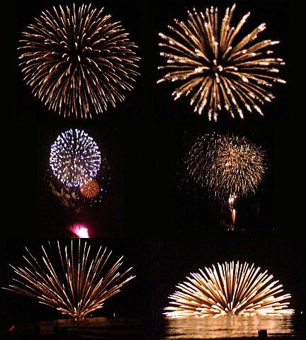 藤塚浜の花火