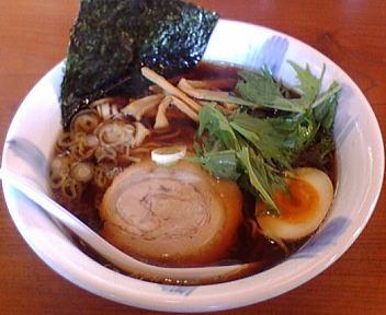 岡村家 コクだれ醤油麺