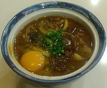 鶴丸 カレーうどん